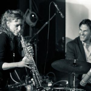 Nicole Johänntgen, Pius Baschnagel - My good friend Jazz - Gambrinus Jazz Plus im ExRex, St. Gallen. Photo: Daniel Bernet