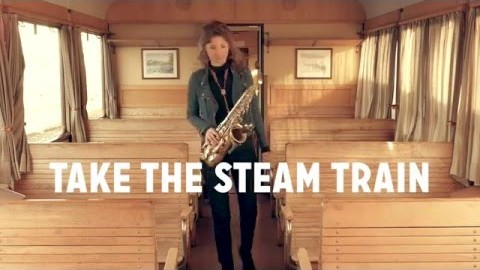 Nicole Johänntgen - Take the steam train