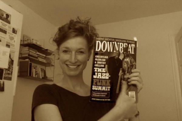 Nicole Johänntgen - Downbeat Magazine
