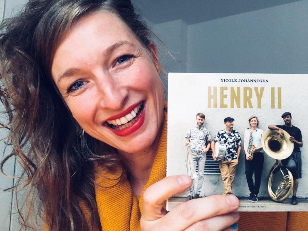 Nicole Johänntgen - Henry II - new CD