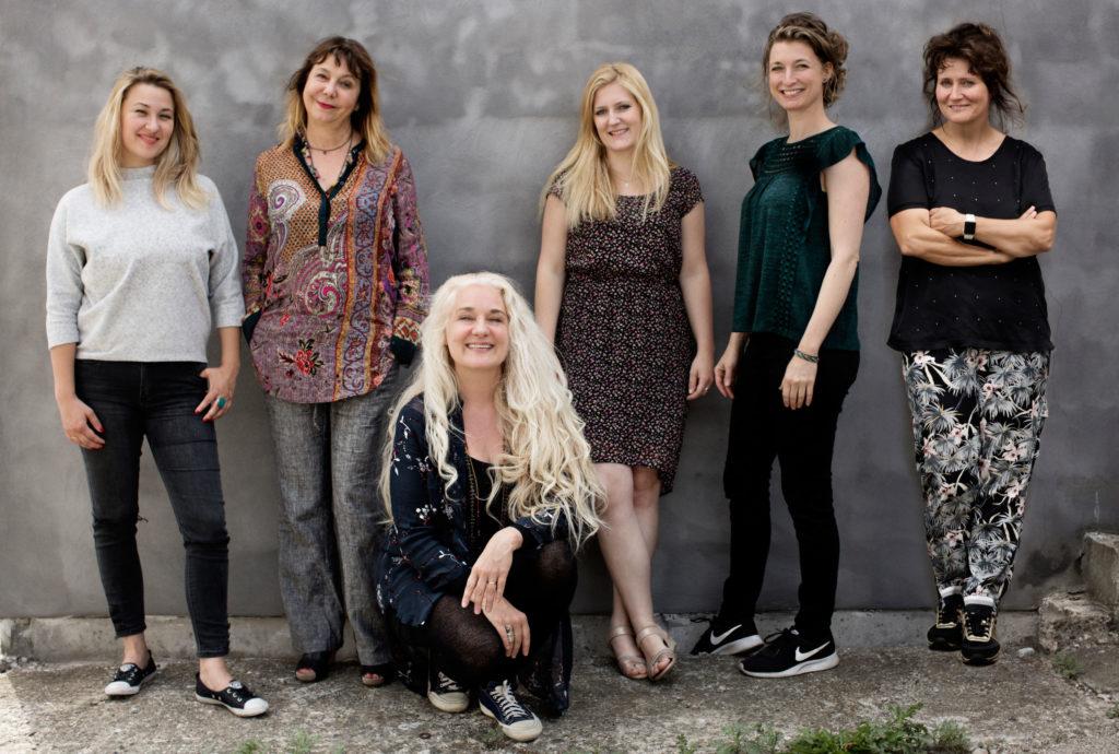 Dorota Piotrowska, Rita Marcotulli, Cæcilie Norby, Lisa Wulff, Nicole Johänntgen, Hildegunn Øiseth. Photo by Isak Hoffmeyer/ACT