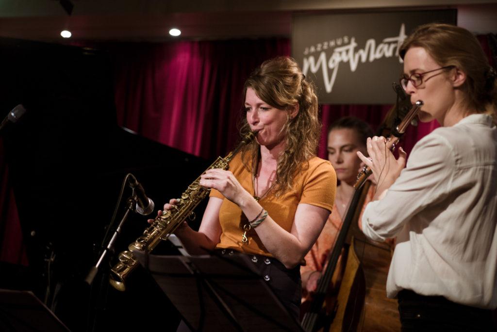 Nicole Johänntgen, Andrea Sulcova - Nicole Johänntgen - Sisters in Jazz - Jazzhus Montmartre, Copenhagen. Photo: Daniel Bernet