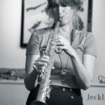 Nicole Johänntgen - Nicole Johänntgen Quartett - Lebewohlfabrik, Zürich. Photo: Daniel Bernet