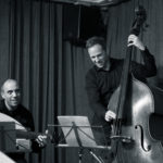 Nehad El Sayed, Philipp Moll - Nicole Johänntgen Quartett - Lebewohlfabrik, Zürich. Photo: Daniel Bernet