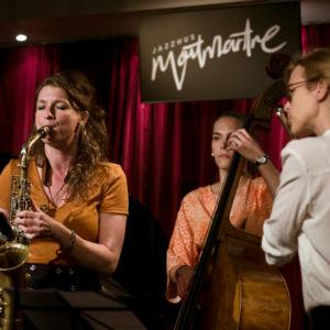 Nicole Johänntgen, Stina Andersdotter, Andrea Sulcova - Nicole Johänntgen - Sisters in Jazz - Jazzhus Montmartre, Copenhagen. Photo: Daniel Bernet