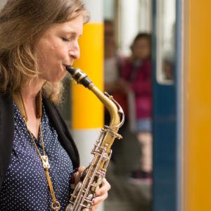 Nicole Johänntgen - Tram-Museum, Zürich. Photo: Daniel Bernet